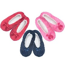 Women's Fuzzy Warm Cozy Feet Slippers Non-Slip Lined-Sherpa Plush Fleece... - $10.25
