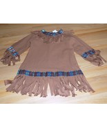 Toddler Size Large 3-4T Native American Indian Halloween Costume Dress EUC - $22.00