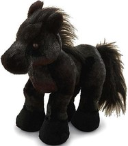 Brand New Plush Ganz Webkinz Black Stallion Horse - $7.43