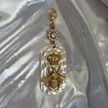 Glitzy Royal Purse Fob- Crown Purse Fob- Glamorous Purse Charm- Royal Glamor image 3