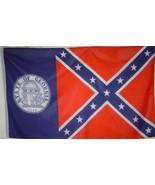 Georgia 1956-2001 State poly  Flag 3' X 5' - $11.39