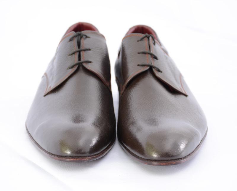 New Handmade Men's Classy Unique Design Luxury Plain Leather Dress Shoes For Men