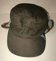 Gymboree Cadet Hat With Attached Neck Warmer Lined Unisex Size 5-7  - £15.24 GBP