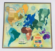 1975 RISK Parker Brothers World Conquest Family Board Game #44 Replaceme... - $5.95