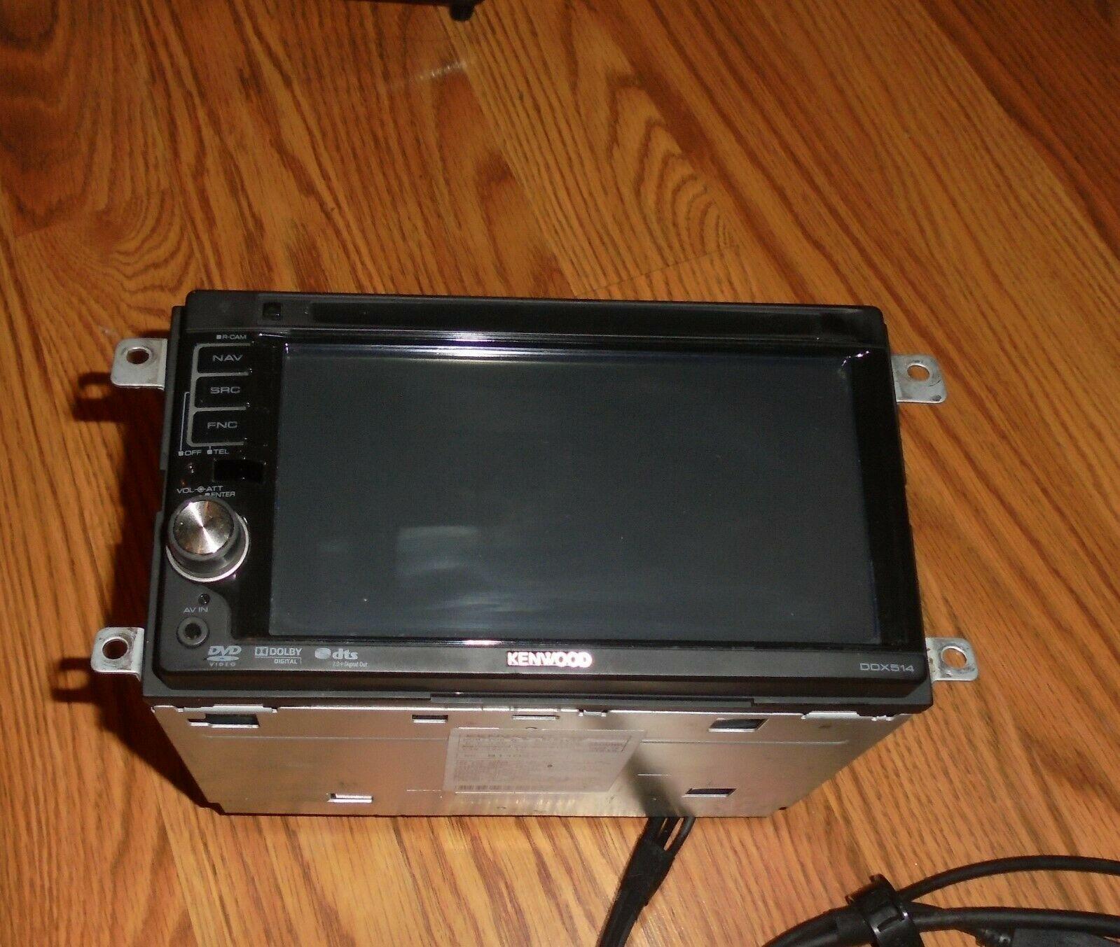 Kenwood DDX514 6.1-Inch Wide In-Dash Monitor DVD Recevier Broken For Parts
