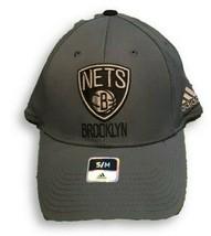 NWT New Brooklyn Nets adidas Logo Size L/XL Flex-Fit Hat - $17.77