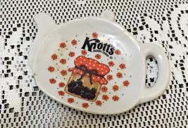 Vintage Knotts Berry Farm Tea Pot Shaped Tea Bag Rest // Spoon Rest - $10.00
