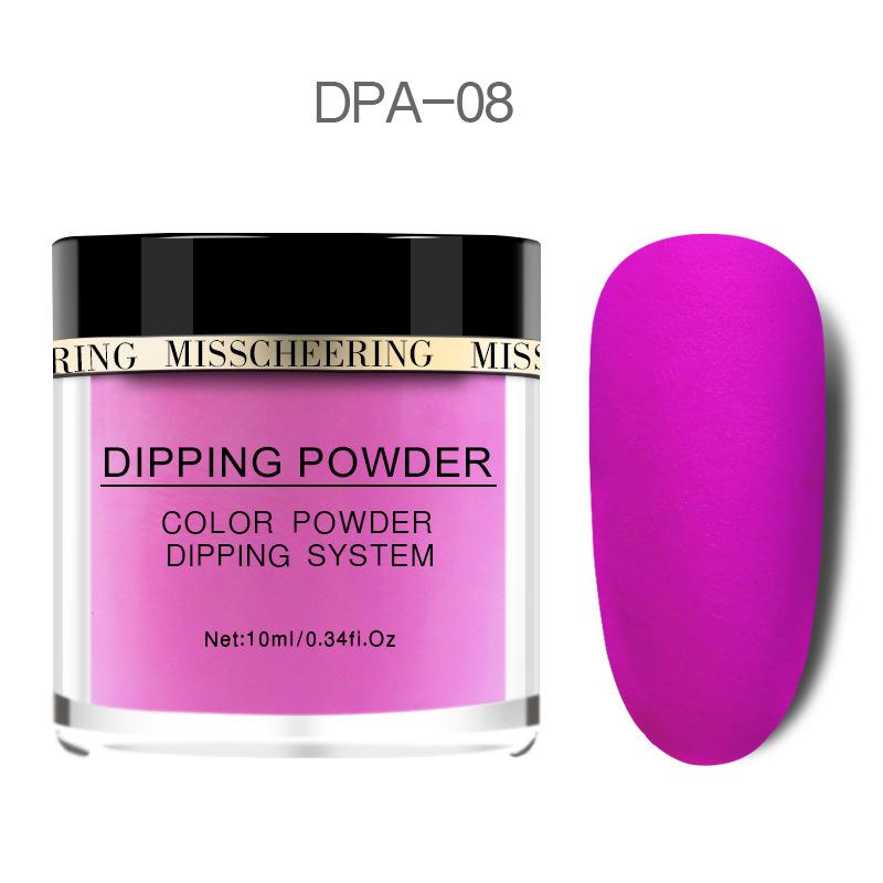 Matte Color Manicure Powder Nail Dipping Powder Nail Art Decorations  08 image 6