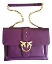 Pinko Big Love Bag Soft Simply In Purple Auth - $319.00