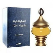 1001 Nights EDP Perfume By Ajmal 60 MLAuthentic Famous Amazing Fragrance - $89.09