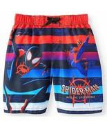 SPIDER-MAN SPIDER-VERSE UPF50+ Bathing Suit Swim Trunks NWT Boys Size 4 ... - $15.77