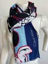 Calvin Klein Cobalt scarf Weich Schal NEU- Versand aus DE - $49.43