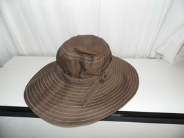 Vintage Betmar New York Brown Sun Hat  - $34.65