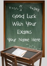 Good Luck In Your Exam Card PIDI3   A5 Personalised Greeting - $4.04