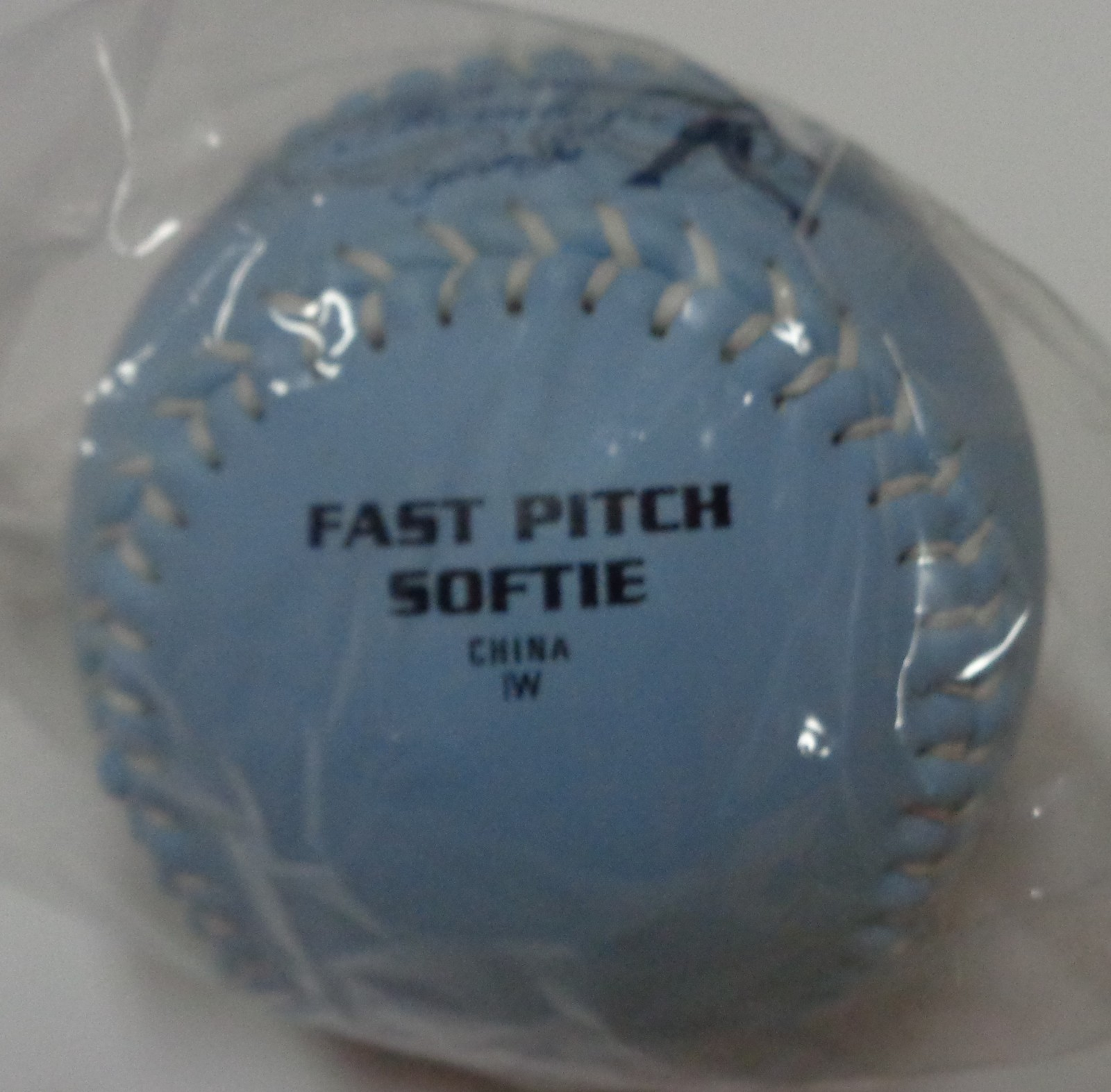 Jessica Mendoza Blue Fast Pitch Ball Dudley NEW