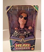 Bret Hart Head Ringers Action Figure Statue WCW/NWO Wrestling 1999 Toy Biz  - $28.48