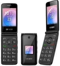 NEW Alcatel Go Flip | 4GB (GSM UNLOCKED) Flip Phone | Black 4044V