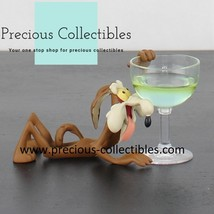 Extremely rare! Wile E Coyote hanging at a glass from thirst - $295.00