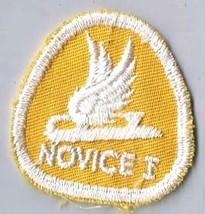 Vintage Sports Patch Canada Figure Skating Novice I Level Merit Badge - $2.84