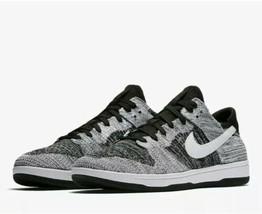 RARE Nike Dunk Low Flyknit OREO Basketball Shoe (917746-003) Men's Size 11 - $118.79
