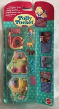 Vintage Polly Pocket Pony Sisters Bluebird 1995 NEW & SEALED MOC Compact - $157.49