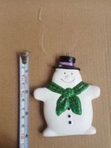 DEPT. 56 Snowman CHRISTMAS Xmas Holiday Tree Ornament Pre-owned vintage decor - $9.49