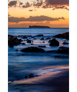 Molokini at Dusk, Maui, Fine Art Photos, Paper, Metal, Canvas Prints - $40.00