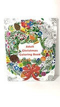 Adult Christmas Wreath Coloring Book - $14.62