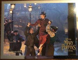 Mary Poppins Returns Lithograph Disney Movie Club Exclusive New - $15.00