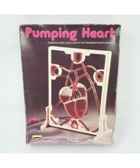VINTAGE 1986 LINDBERG PUMPING HEART ANATOMICALLY ACCURATE PLASTIC SCIENC... - $27.12