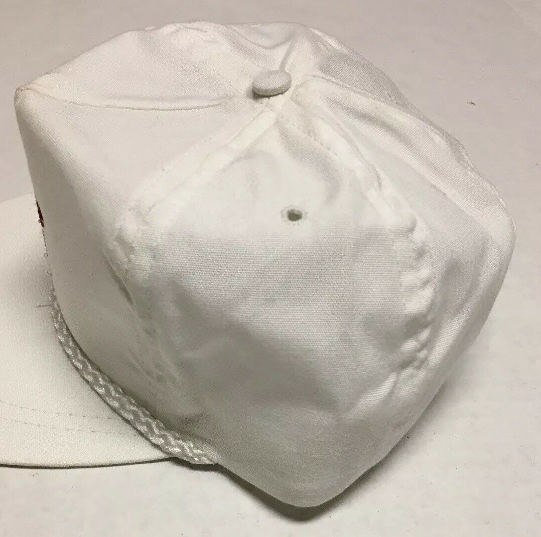 Vtg Max Rouse & Sons Inc Hat Auction Beverly Hills CA Cap Destroyed Made in USA image 5