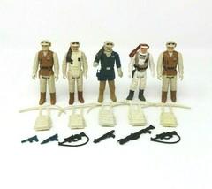 Empire Strikes Back Rebel Soldier Commander Figure Lot with Backpacks & ... - $49.01