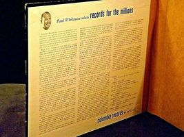 Columbia Records Paul Whiteman Selects Records for the Millions AA19-1496 Antiqu image 9
