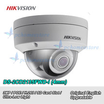 Hikvision DS-2CD2135FWD-I 3MP H.265 Ultra-Low Light IR Network Dome Came... - $101.97