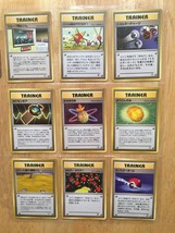 Trainers RARE 1999 Japanese Pokemon LOT NM never played US Free Shipping - $12.17