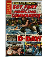 Sgt. Fury and His Howling Commandos #2 1966-D-Day issue-Marvel-NM- - $394.06