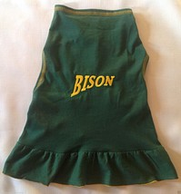 NCAA North Dakota State Bison Cheerleader Dog Dress - Large - New with T... - $24.99