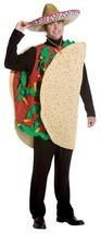 Taco Costume Adult Food Mexican Fiesta Halloween Party Unique Cheap GC7079 - $54.99
