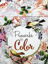 Proverbs In Color Coloring Cards Brand NEW Boxed 44 Cards With Scripture - $9.12
