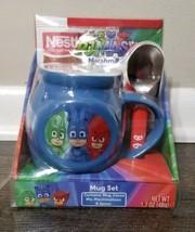 PJ MASKS  Mug Set with Hot Cocoa, Marshmallows and Spoon - $7.69