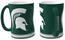 Michigan State Spartans 15 oz Relief Mug - Green, - $18.49