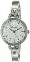 Fossil BQ3025 Silver Dial Stainless Steel Women's Watch - $98.01
