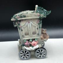 IVY & INNOCENCE FIGURINE vintage resin cast art village Winstons peddler... - $23.76