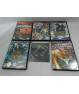 5 Preowned Playstation 2 - 1 PS3 Games Star Wars Desert Storm Lord Rings  - $16.82