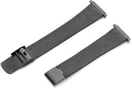 Hadley-Roma Men's MB3808RASQ 22 22-mm Black Fine Mesh Stainless Steel Watch - $54.83