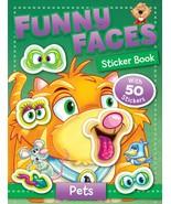 Funny Faces Sticker Book: Pets (Funny Faces Sticker Books) - $5.93