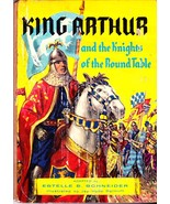 King Arthur And The Knights Of The Round Table, Estelle B Schneider, Barnum - $2.99