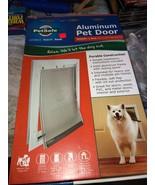 "Petsafe Freedom Aluminum Pet Dog Doors  Medium 1-40lb 8 1/4"" x 12 1/4"" Flap - $72.52"