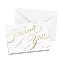Hortense B Hewitt Gold Unending Gratitude Thank You Cards, 50-Pack - $19.24