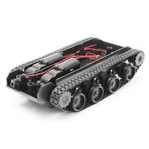 Tank Robot Chassis Platform Dual DC Motor Kit DIY Arduino PS SCM - $20.99
